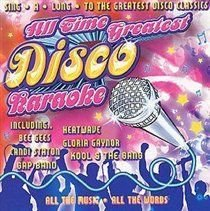 Various - All Time Greatest Disco Karaoke (CD): Various