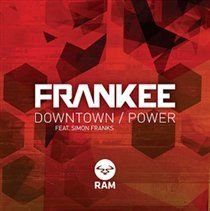 Frank'ee - Downtown/The Power (Vinyl record): Frank'ee