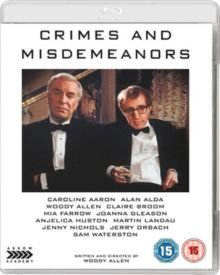 Crimes and Misdemeanors (Blu-ray disc): Martin Landau, Claire Bloom, Anjelica Huston, Woody Allen, Alan Alda, Mia Farrow, Jenny...