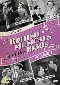 British Musicals Of The 1930s Volume 3 Dvd Bobby Howes Renée