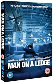 Man On a Ledge (DVD): Jamie Bell, Elizabeth Banks, Sam Worthington, Ed Harris, Anthony Mackie, Kyra Sedgwick, Edward Burns,...