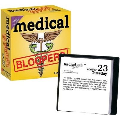 Medical Bloopers 2011 (Calendar, 2011): Accord Publishing