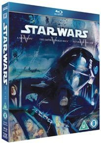 Star Wars Trilogy: Episodes IV, V and VI (English, Spanish, Portuguese, Blu-ray disc): Mark Hamill, Carrie Fisher, Harrison...