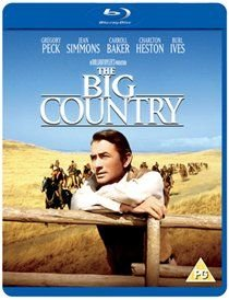 The Big Country (Blu-ray disc): Gregory Peck, Charlton Heston, Burl Ives, Jean Simmons, Carroll Baker, Dorothy Adams, Alfonso...