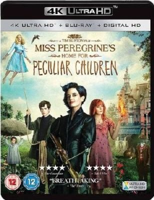 Miss Peregrine's Home for Peculiar Children (Blu-ray disc): Eva Green, Asa Butterfield, Samuel L. Jackson, Chris...