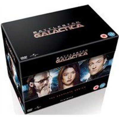 Battlestar Galactica: The Complete Series (DVD, Boxed set): Edward James Olmos, Mary McDonnell, Katee Sackhoff, Jamie Bamber,...