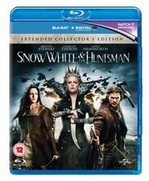 Snow White and the Huntsman: Extended Version (Blu-ray disc): Charlize Theron, Ray Winstone, Eddie Marsan, Ian McShane, Nick...