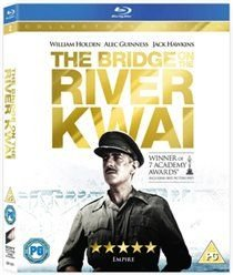 The Bridge On the River Kwai (English, Spanish, Italian, Blu-ray disc): Alec Guinness, Jack Hawkins, Sessue Hayakawa, William...