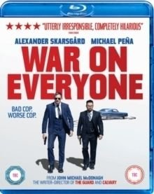 War On Everyone (Blu-ray disc): Alexander Skarsgård, Michael Peña, Tessa Thompson, Theo James, Caleb Landry Jones, Paul Reiser,...
