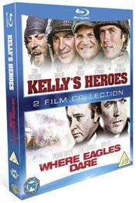 Kelly's Heroes/Where Eagles Dare (Blu-ray disc): Clint Eastwood, Telly Savalas, Don Rickles, Donald Sutherland, Carroll...