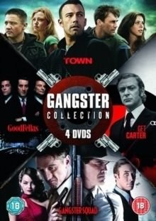 Gangster Collection (DVD): Ben Affleck, Rebecca Hall, Blake Lively, Jeremy Renner, Jon Hamm, Michael Caine, Britt Ekland, Ian...