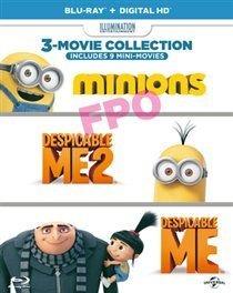 Despicable Me/Despicable Me 2/Minions (Blu-ray disc)