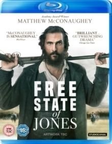 Free State of Jones (Blu-ray disc): Matthew McConaughey, Gugu Mbatha-Raw, Keri Russell, Sean Bridgers, Jacob Lofland,...