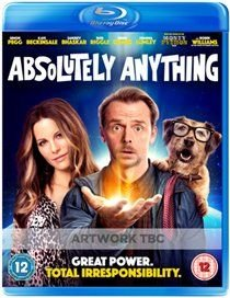 Absolutely Anything (Blu-ray disc): Simon Pegg, Rob Riggle, Terry Jones, Kate Beckinsale, Sanjeev Bhaskar, John Cleese, Michael...