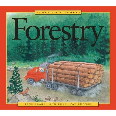 America at Work: Forestry (Paperback, 1st U.S. ed): Jane Drake