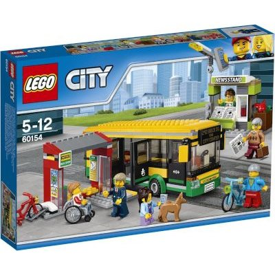 LEGO City Town Bus Station: