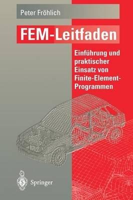 Fem-Leitfaden - Einfuhrung Und Praktischer Einsatz Von Finite-Element-Programmen (German, Paperback, 1995 ed.): Peter Frohlich