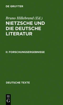 Forschungsergebnisse (German, Electronic book text, Reprint 2011 ed.): Bruno Hillebrand