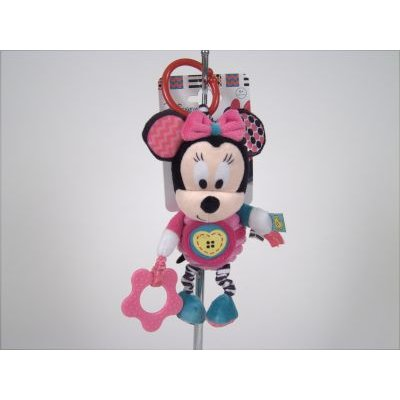 Disney Baby Minnie Mouse Teether  Activity Toy: