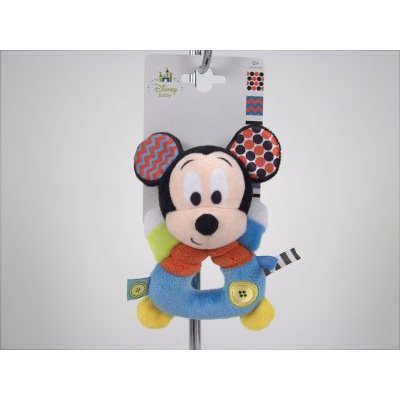 Disney Baby Mickey Mouse Ring Rattle: