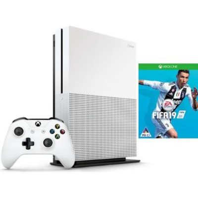 consoles microsoft xbox one s console 1tb with fifa 19 use