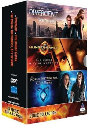 Divergent / Hunger Games / Mortal Instruments (DVD):