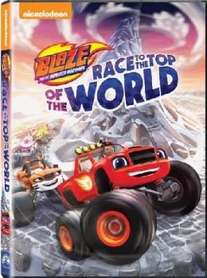 Blaze & The Monster Machines - Race To The Top Of The World (DVD):