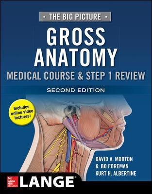The Big Picture: Gross Anatomy, Medical Course & Step 1 Review, Second Edition (Paperback, 2nd edition): David Morton, K. Bo...