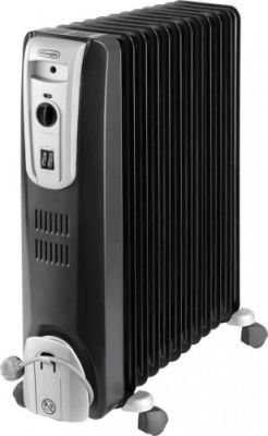 Delonghi ComforTemp Oil Heater (Black) (12 Fin):