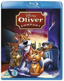 Oliver and Company (English, German, French, Blu-ray disc): Joey Lawrence, Billy Joel, Cheech Marin, Richard Mulligan, Roscoe...