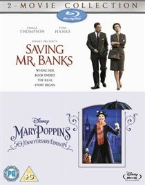 Saving Mr. Banks/Mary Poppins (Blu-ray disc): Tom Hanks, Emma Thompson, Colin Farrell, Paul Giamatti, Jason Schwartzman, Ruth...