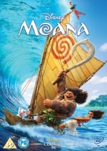 Moana (English, Arabic, Turkish, DVD): Auli'i Cravalho, Dwayne Johnson, Alan Tudyk, Phillipa Soo, Jemaine Clement, Nicole...