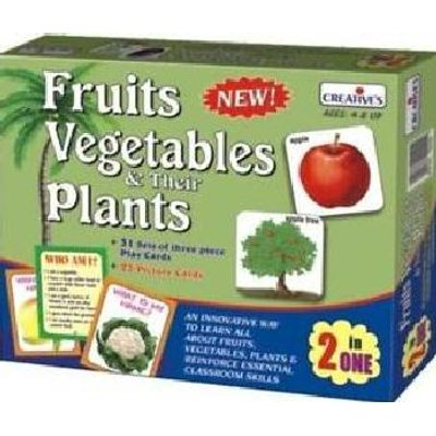 Creative's Fruits, Vegetables & Their Plants 2 in 1:
