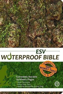 Waterproof Bible-ESV-Tree Bark (Paperback): Bardin & Marsee Publishing