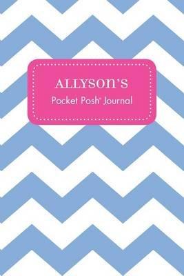 Allyson's Pocket Posh Journal, Chevron (Paperback): Andrews McMeel Publishing