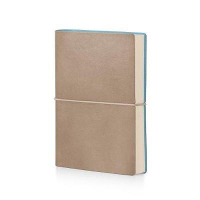Ciak Lined Pitti Notebook - Dove (Leather / fine binding): Discovery Books LLC