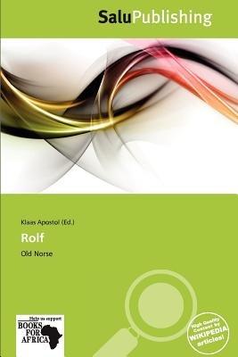 Rolf (Paperback): Klaas Apostol
