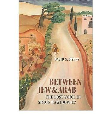 Between Jew and Arab (Paperback): David N. Myers