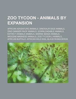 Zoo Tycoon - Animals by Expansion - African Adventure