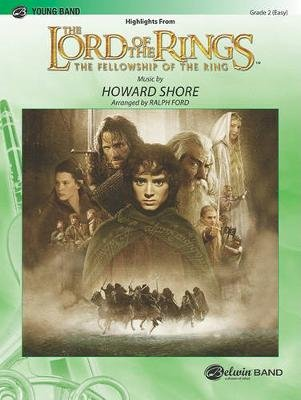 The Lord of the Rings - The Fellowship of the Ring, Highlights from (Paperback):