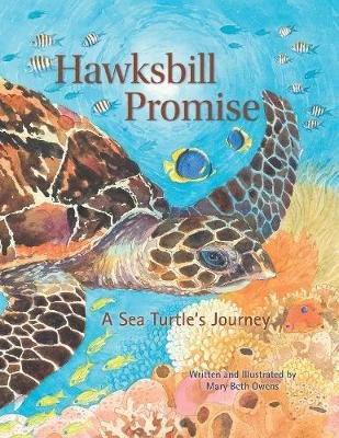 Hawksbill Promise - The Journey of an Endangered Sea Turtle (Hardcover): Mary Beth Owens