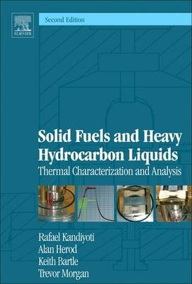 Solid Fuels and Heavy Hydrocarbon Liquids - Thermal Characterisation and Analysis (Hardcover, 2nd Revised edition): Rafael...