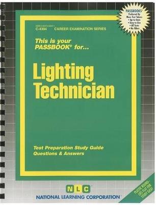 Lighting Technician (Spiral bound): Jack Rudman
