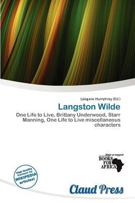 Langston Wilde (Paperback): L. Egaire Humphrey