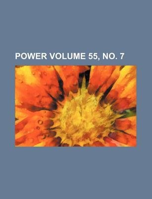 Power Volume 55, No. 7 (Paperback): Books Group