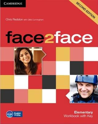 face2face Elementary Workbook with Key (Paperback, 2nd Revised edition): Chris Redston