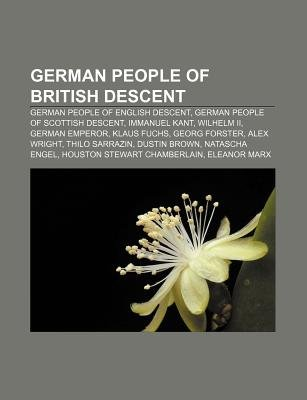 German People of British Descent - German People of English