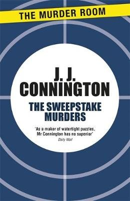 The Sweepstake Murders (Paperback): J J Connington