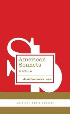 American Sonnets - An Anthology (Hardcover): David Bromwich