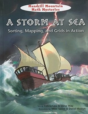 A Storm at Sea - Sorting, Mapping, and Grids in Action (Hardcover): Felicia Law, Steve Way